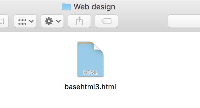 basehtml3.htmlファイルにCSSを記載して保存