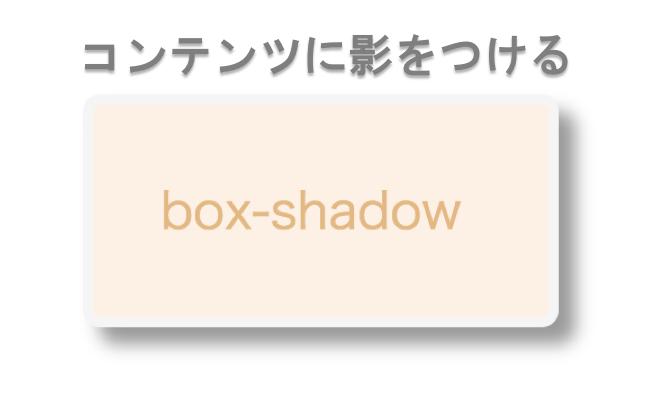 box-shadowプロパティとは?